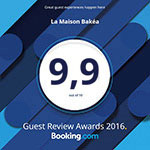 Award Winner Booking